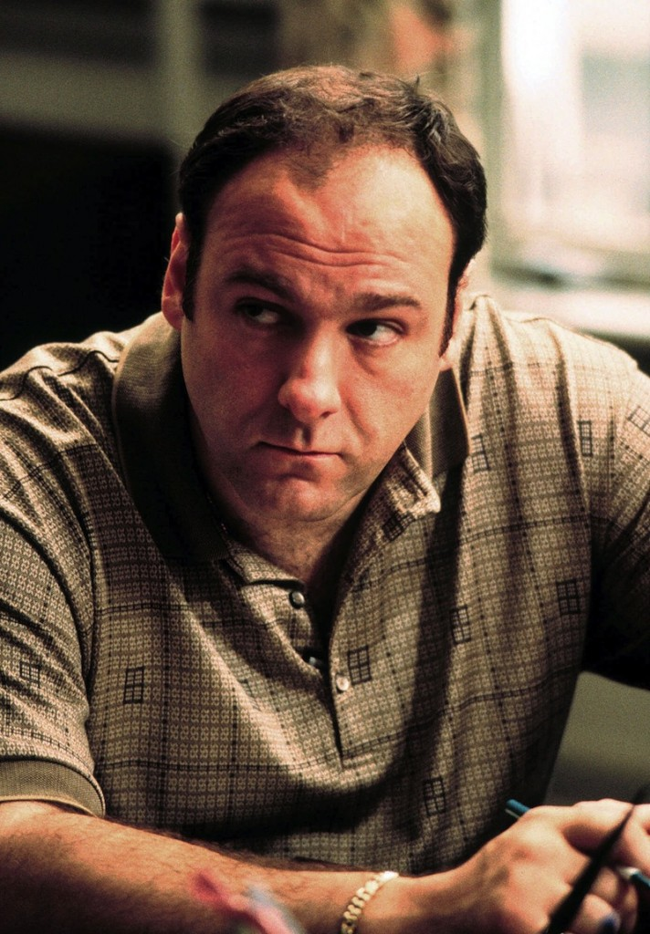 This 1999 file photo released by HBO shows actor James Gandolfini as Tony Soprano in the critically acclaimed HBO series