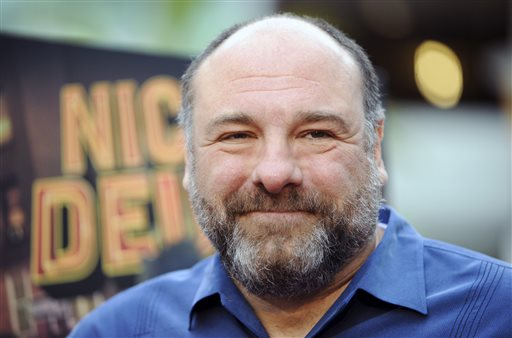 A May 20, 2013, photo of James Gandolfini at the L.A. premiere of