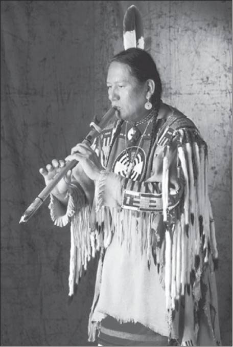 Traditional cedar-wood flute player R. Carlos Nakai is part of a renaissance of interest in Native Ameican music.