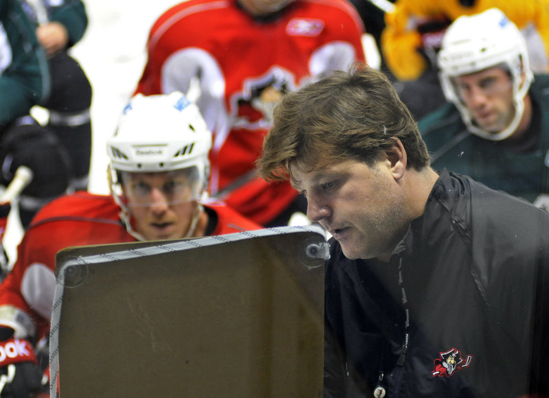 Portland Pirates Coach Ray Edwards has had his contract extended.