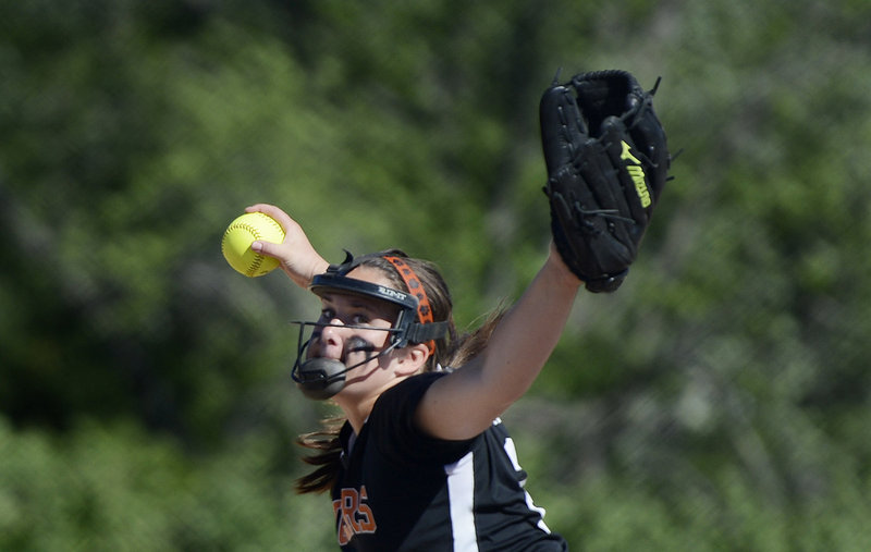 Biddeford's Abbie Paquette, a sophomore, got the win as she retired 12 of 13 hitters in one stretch and allowed only three hits over the last six innings.