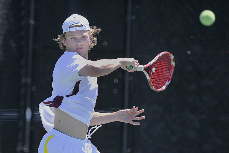 Matt Gilman's 6-0, 6-0 victory at No. 1 singles helped Cape Elizabeth to a 5-0 win over York in the Western Class B final.