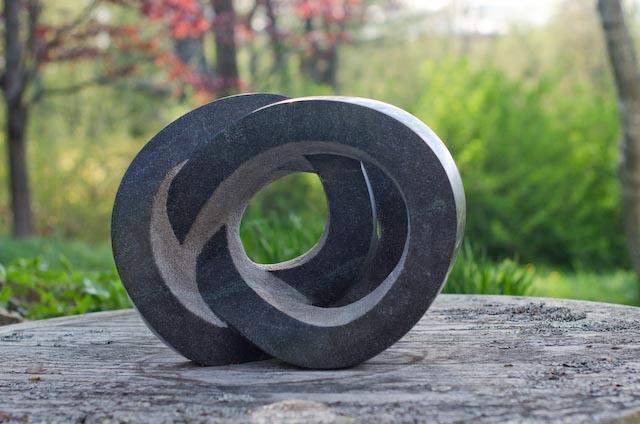 """Gyre"" granite, by Miles Chapin."