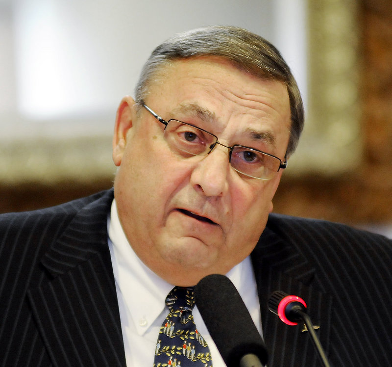 In the first two years of Gov. Paul LePage's administration, the number of notices of violation issued by the DEP's Land Division dropped by half compared to the last two years of the previous administration.