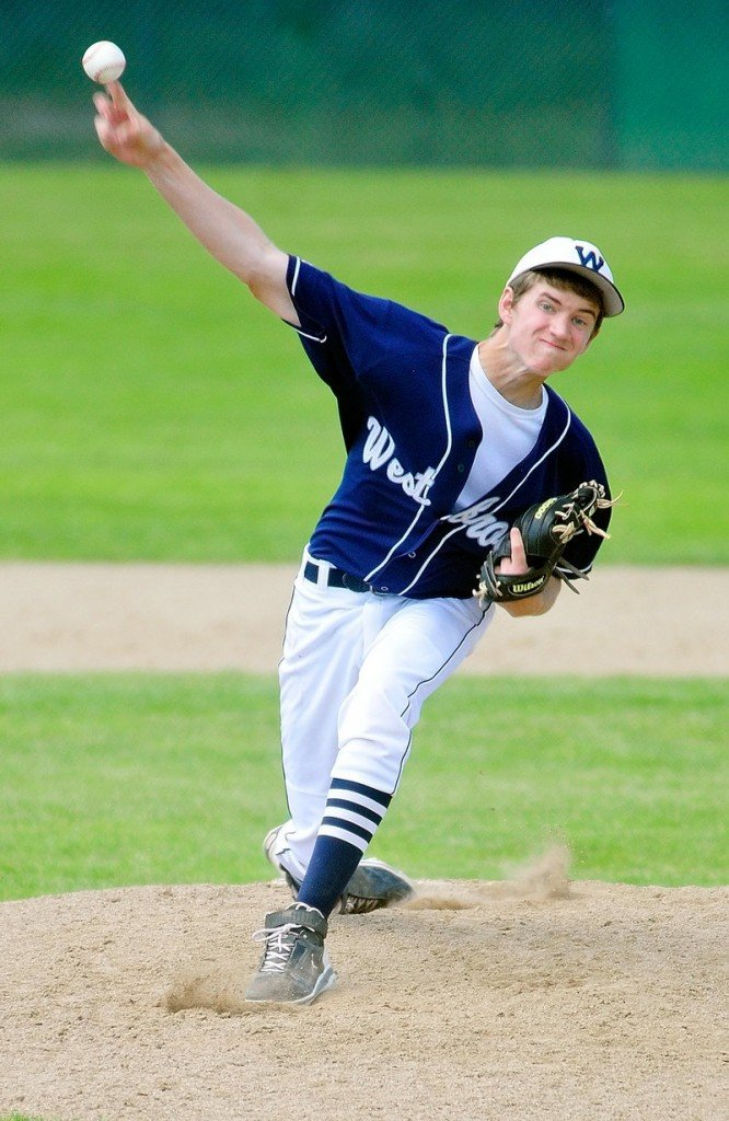 Zack Bean didn't have any strikeouts for Westbrook, but he didn't need any. He allowed just five hits and was backed by a defense that helped propel the Blue Blazes to the Class A baseball title.