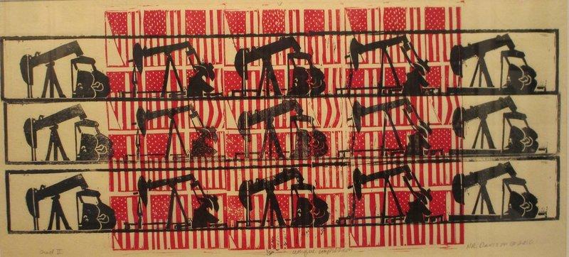 """Grid II"" by Nancy Davison."