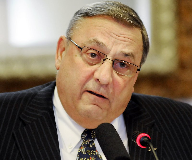 Gov. LePage's inappropriate comments Thursday came at a tea party rally where he was obviously trying to stoke resentment between Democrats and Republicans.