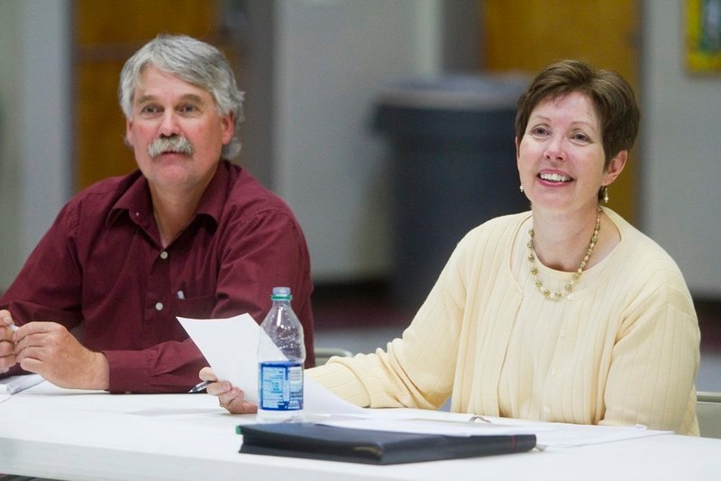 """At the DEP, Patricia Aho, right, has struck a """"delicate balance between protecting our resources and creating a better business environment,"""" says the head of the state Chamber of Commerce."""