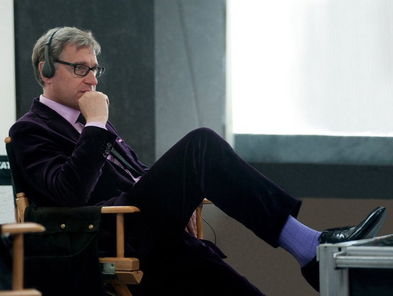 "Director Paul Feig on the set of ""The Heat."" Feig also directed ""Bridesmaids,"" the raunchy comedy that catapulted Melissa McCarthy to A-list status."