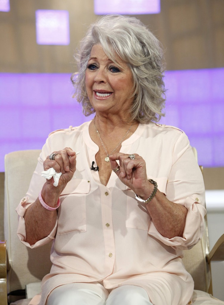 "Celebrity chef Paula Deen dissolves into tears Wednesday during a ""Today"" show interview about her admission that she used a racial slur in the past."