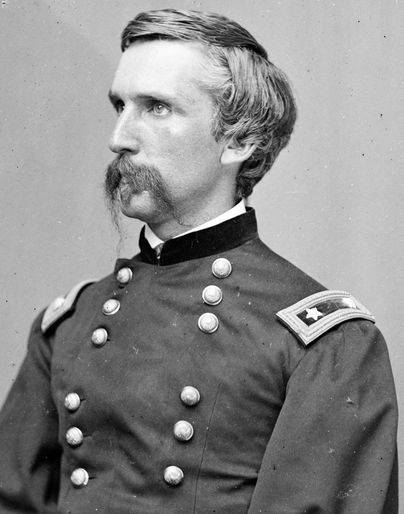 Col. Joshua Chamberlain, a former Bowdoin College professor, commanded the 20th Maine at Little Round Top. Congress awarded the Maine man the Medal of Honor for his actions during the battle at Gettysburg.