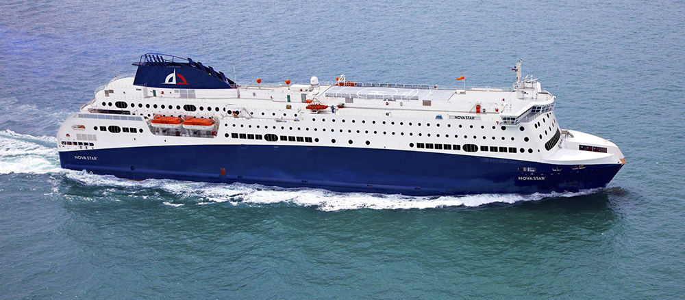 A Maine company called Quest Navigation Inc., is one of three companies who bid to relaunch ferry service between Portland and Nova Scotia beginning in summer 2014. Quest joined with International Shipping Partners of Miami and ST Marine of Singapore to operate the Nova Star, seen above.