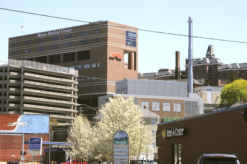 Portland's Maine Medical Center was ranked the state's best in U.S. News and World Report's annual rankings of hospitals, released Tuesday. It's the second straight year it's been ranked No. 1.