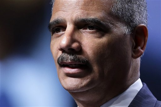 Attorney General Eric Holder speaks in Philadelphia on Thursday, telling Russia the U.S. won't seek the death penalty for Edward Snowden.