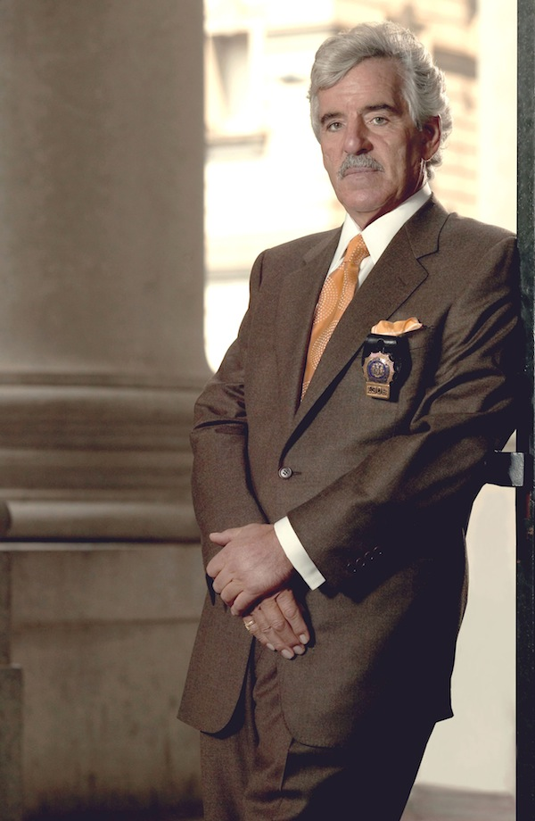 This 2004 file image released by NBC shows actor Dennis Farina in character as Police Detective Joe Fontana on NBC's