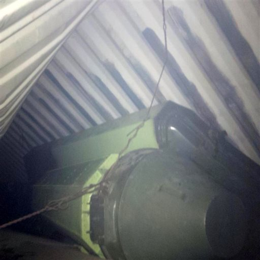 Panama's President Ricardo Martinelli posted this picture on his Twitter account Monday showing what he said officials believe is sophisticated missile equipment found in containers of sugar aboard a North Korean-flagged ship traveling from Cuba.