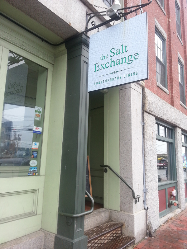 The Salt Exchange on Commercial Street is a little removed from the Old Port bustle.