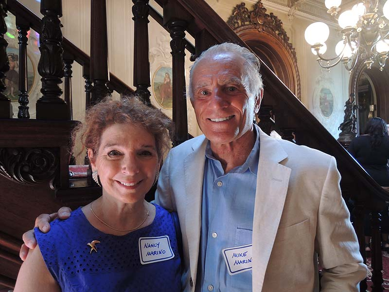 Victoria Mansion board member Nancy Marino and her husband, Mike Marino, have always loved the opera.
