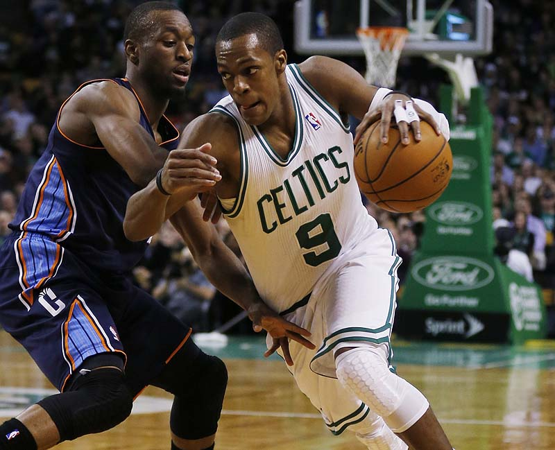 The Celtics are listening to trade offers for All-Star point guard Rajon Rondo, the team's GM said Monday.