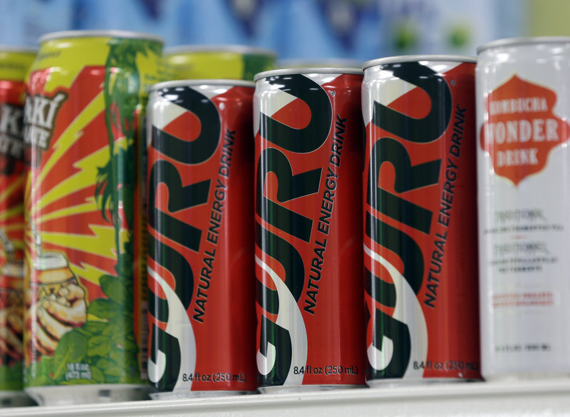 "Guru says its 8.4-ounce can has 125 milligrams of ""naturally occurring"" caffeine. That's a higher concentration than energy drinks like Monster that have 160 milligrams per 16-ounce can."