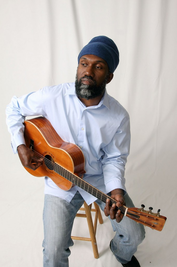 Corey Harris says his liberal arts education at Bates College in Lewiston helped fuel his curiosity about cultures around the world, and that interest led him to the blues.