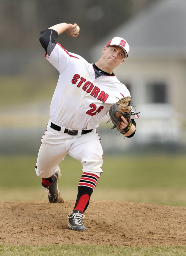 Ben Greenberg was determined to get stronger before his junior season at Scarborough, and he became a force at the plate in addition to being one of the state's top pitchers.