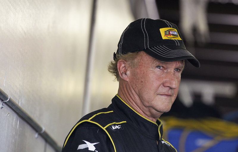 Morgan Shephard will start in the next-to-last spot Sunday but the big thing is he'll be racing. At age 71, the oldest driver for a Sprint Cup race.