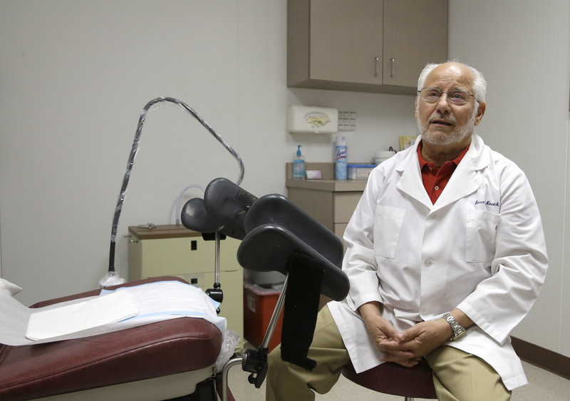Dr. Howard Novick says he would have to come up with up to $1.5 million to upgrade his Houston abortion clinic if new restrictions become law.