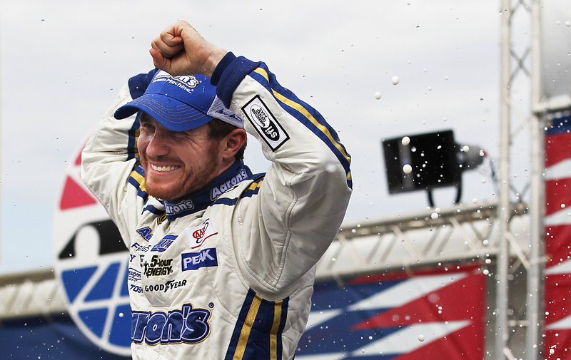Brian Vickers has reason aplenty to smile after his surprise victory that even had his competitors happy for his success.