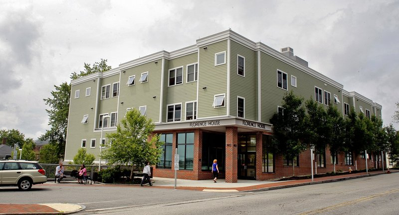 Florence House, a homeless shelter for women at 190 Valley St. in Portland, is owned by Preble Street, a nonprofit organization.