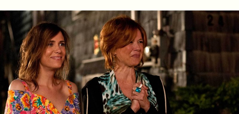 """Kristen Wiig as Imogene with Annette Benning as her mother, Zelda, in """"Girl Most Likely."""""""