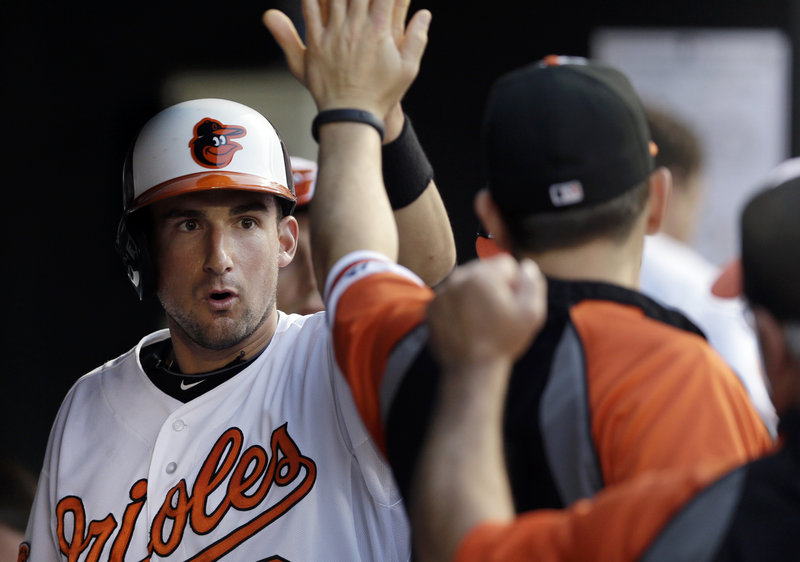 Since returning to the Orioles from the minor leagues in late May, Deering High grad Ryan Flaherty has rebounded from a hitting slump and has a .300 average in his last 29 games.