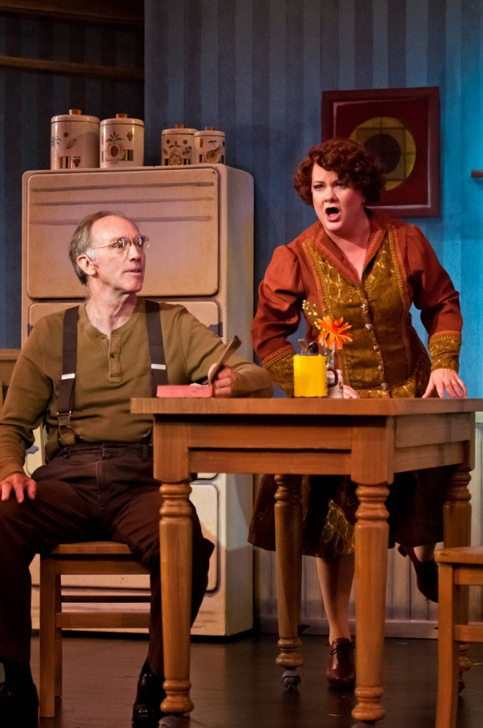 """Charis Leos plays Mama Rose in """"Gypsy"""" at the Maine State Music Theatre in Brunswick."""