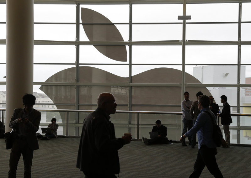 Apple Inc., which held its Worldwide Developers Conference in San Francisco in June, reported a 22 percent drop in quarterly profit from a year ago. Overall, shares are down by about 35 percent since the latest iPhone came out 10 months ago.