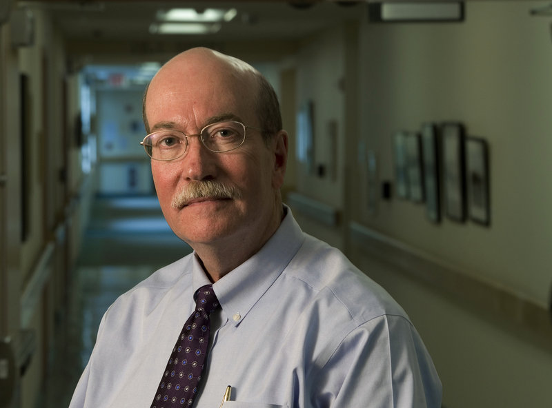 """James Donovan, CEO of Lincoln County Health Care, supports the emergency room's closure at St. Andrews Hospital in Boothbay Harbor. """"For many years now, the 24/7 St. Andrews emergency department hasn't been busy enough to sustain itself,"""" Donovan says."""