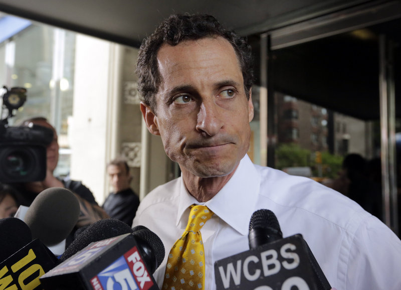 Anthony Weiner said he would keep talking about