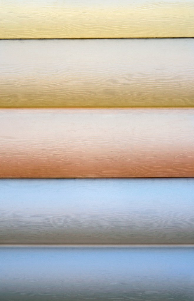 Siding choices –the most popular today are insulated vinyl board and fiber cement – come in a variety of colors.