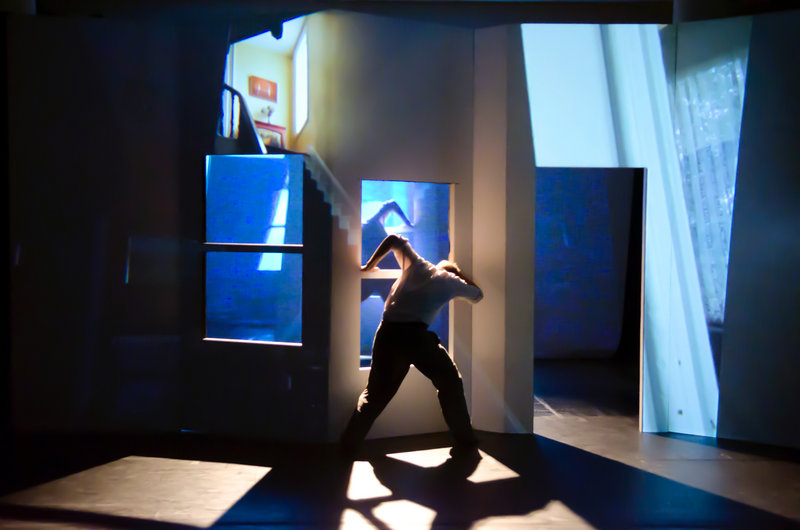 """""""Voyeur,"""" inspired by Edward Hopper paintings, will be presented by Bridgman l Packer Dance at the Bates Dance Festival on Friday and Saturday."""