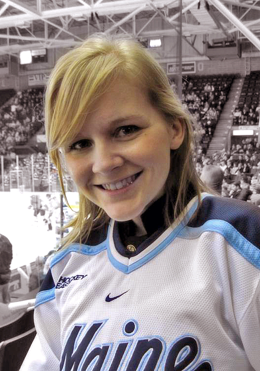 Ashley Drew attends an event at the Cumberland County Civic Center in November 2011. The 26-year-old Scarborough woman, who had cystic fibrosis, died Thursday, July 25, 2013 at Brigham and Women's Hospital in Boston.