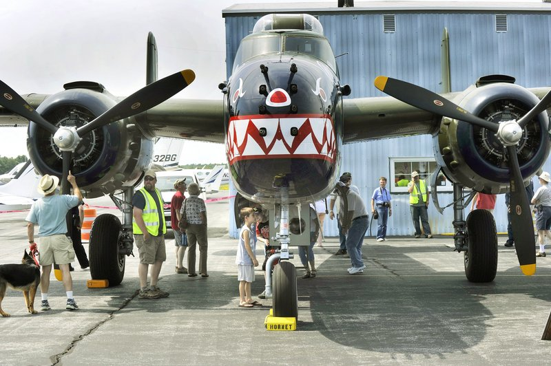 The Texas Flying Legends, who maintain and fly a collection of World War II aircraft, will return to Wings Over Wiscasset on Tuesday.