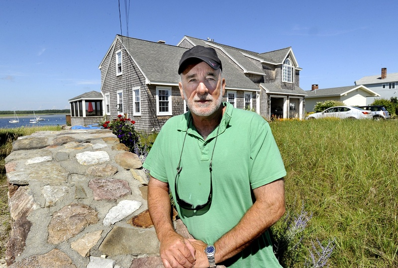 Don Petrin, seen at his home on Pine Point, is among the Scarborough residents to be affected by a recent waterfront land revaluation.