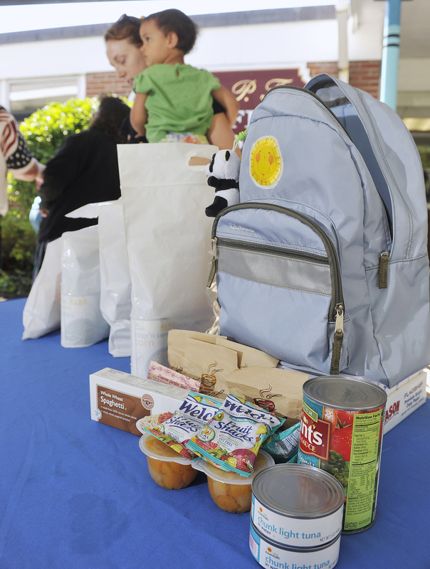 The BackPack Program, which provides food for children for the weekend, will expand to include about 200 students attending elementary schools in midcoast.