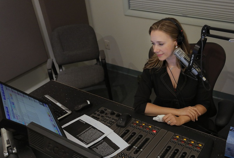 Suzanne Nance hosts her last broadcast as host of