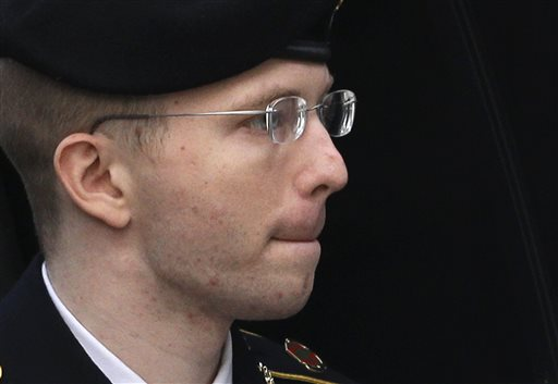 Bradley Manning could be released in about 6 1/2 years.