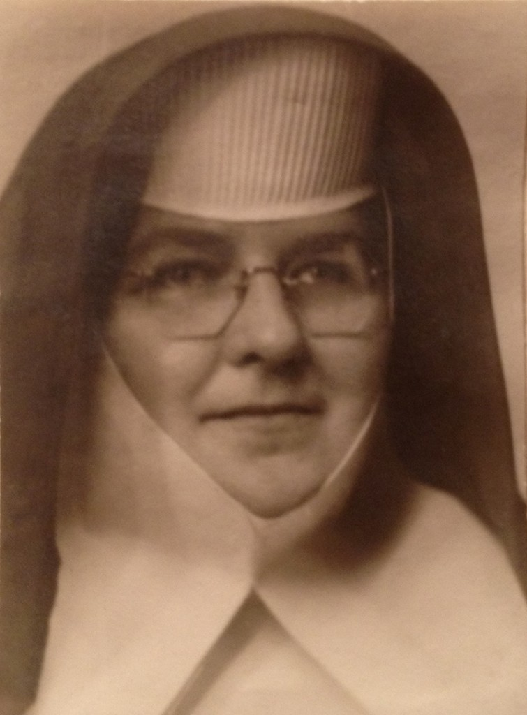 Sister Mary Louise Landry in the early 1930s, about the time she took her vows for the Sisters of Mercy.