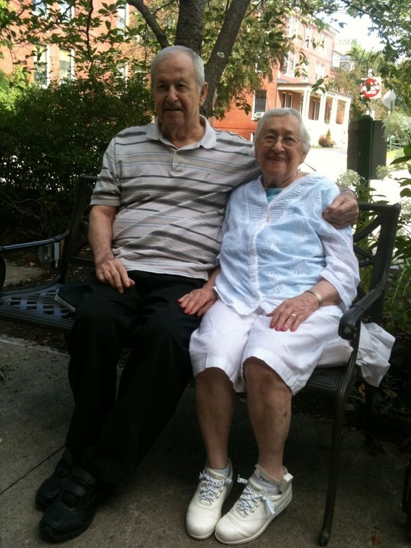 Albert Michaud, 84, and his wife, Rita Michaud, 86, have been in long-term care after being hit by a car years ago.