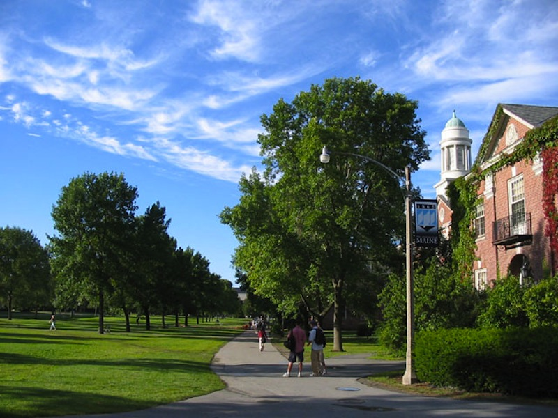 Stevens Hall at the University of Maine campus in Orono.