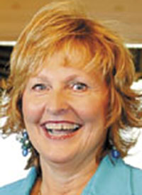"""Ann LePage: """"Military service men and women and their families have a special place in my heart."""
