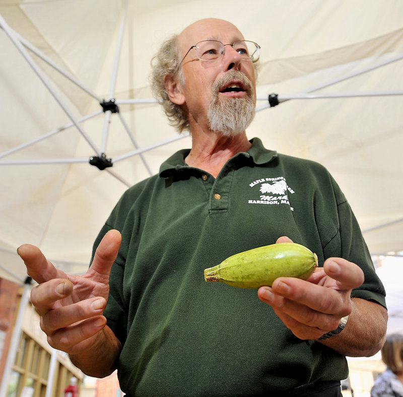 """Mark Heidmann, who owns Maple Springs Farm in Harrison, says: """"I don't think people have an understanding of what 'genetically modified' means, but they know they don't like it."""""""