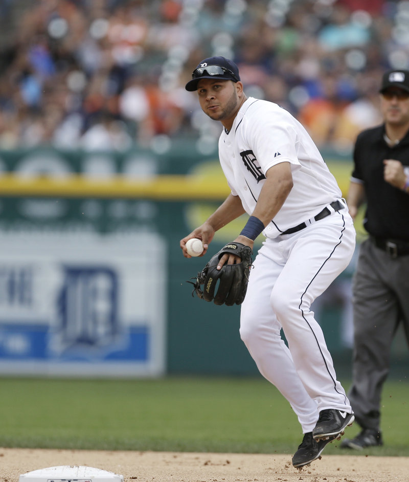 Jhonny Peralta of the Tigers may face a suspension, and his team has traded for a possible replacement – Jose Iglesias from the Red Sox.